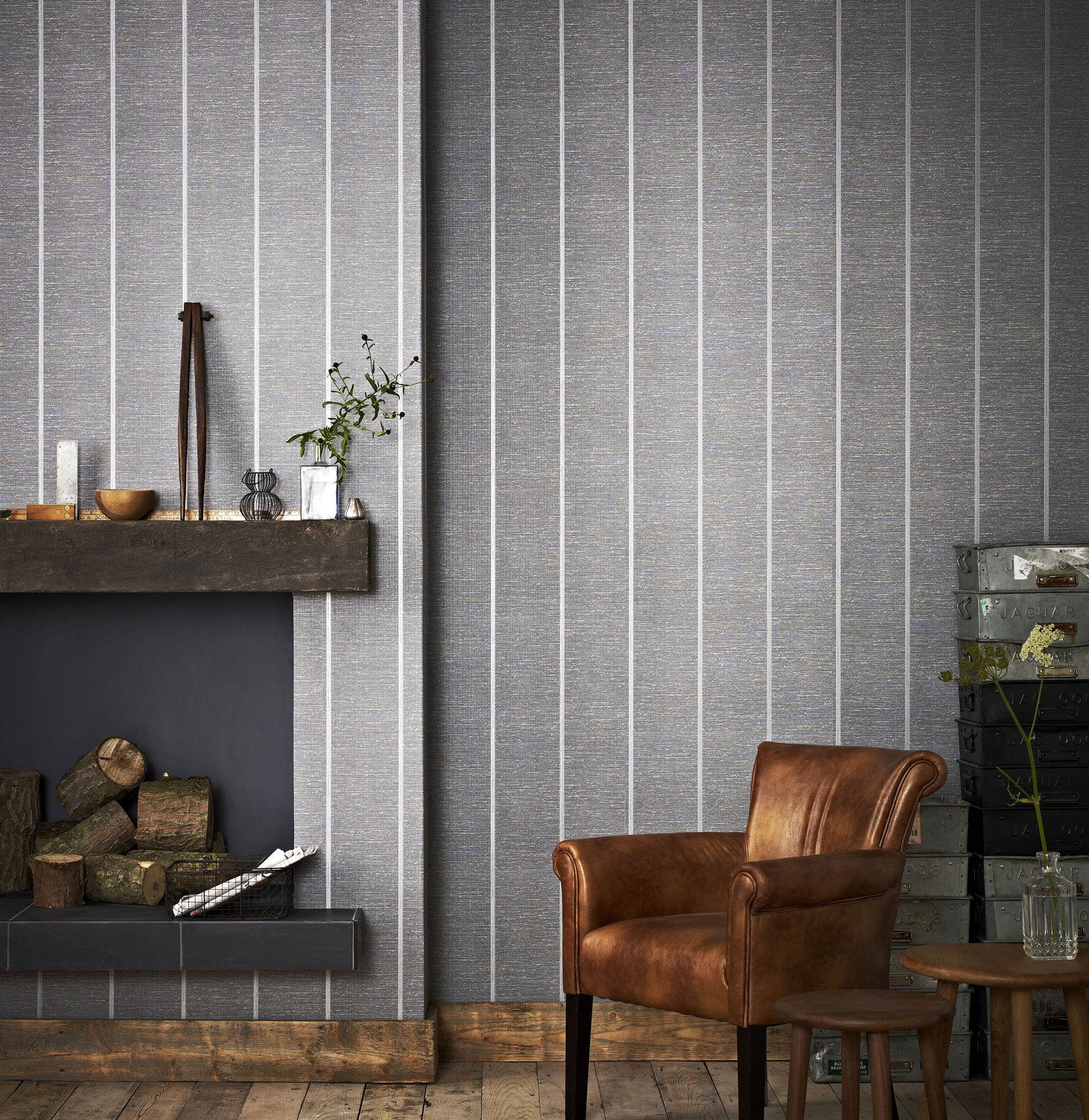 ... Large Prairie Charcoal Wallpaper, ... Part 75