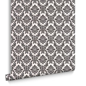 Damask Black und White, , large