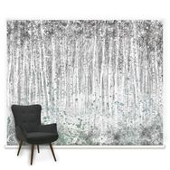 Couture Painterly Woods Mural, , large