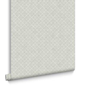 Trellis Parchment Wallpaper, , large