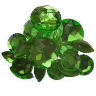 Emerald Self Adhesive Mixed Jewels, , large