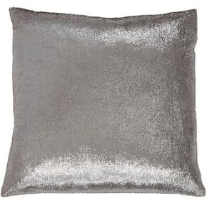 Silver Shimmer Metallic Cushion, , large