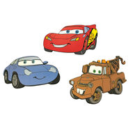 Cars Foam Elements 3pcs, , large