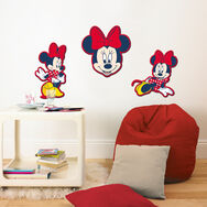 Décor en mousse Minnie Mouse – 3 pièces, , large