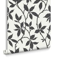 Elisa Charcoal Wallpaper, , large