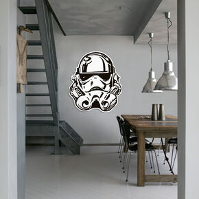 Star Wars Stormtrooper Full Face Maxi Sticker, , large