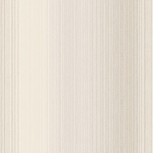 Chambray Stripe Sand Wallpaper, , large