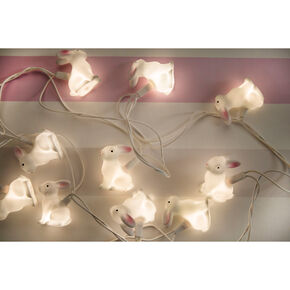 Woodland Rabbit Lights, , large