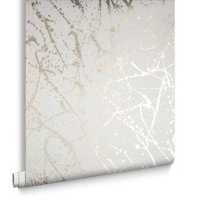 Splatter Gold Wallpaper, , large
