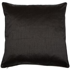 Midnight Black Lavish Cushion, , large