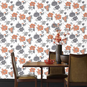 Eden Orange Wallpaper, , large