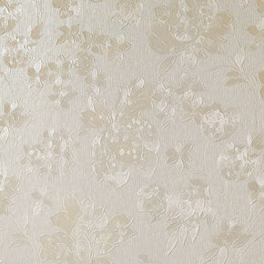Floral Silk Cream Shimmer, , large