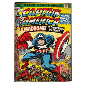 Captain America canvas, , large
