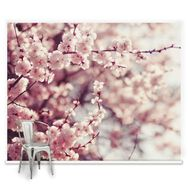 Romantic Blossom Mural, , large