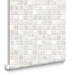 Kitchen wallpaper ideas uk washable kitchen wallpaper for Grey kitchen wallpaper