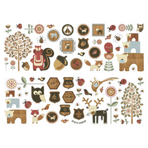 Graham & Brown Forager Wall Sticker, , large