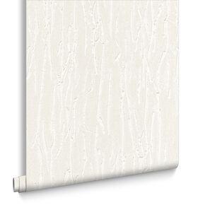 Crushed Silk Pearl Wallpaper, , large