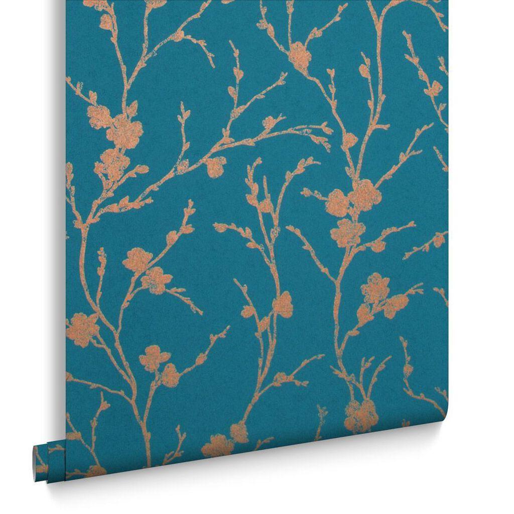 Blue Wallpaper Duck Egg Blue Navy Teal Wallpaper