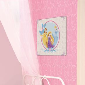 Princess Bedrukt canvas 30 x 30 cm, , large