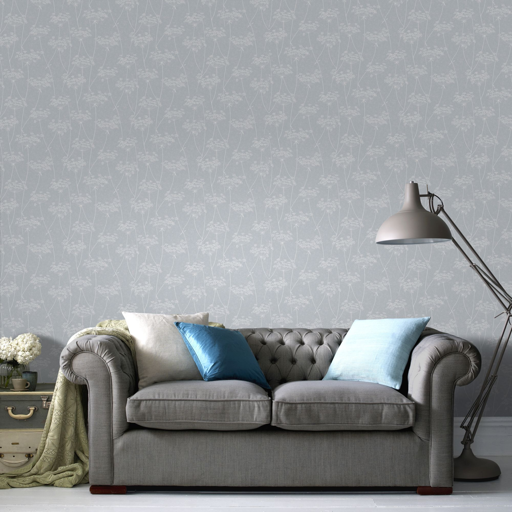 ... Large Aura Blue Wallpaper, ...
