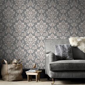 Johor Dusky Grey Wallpaper, , large