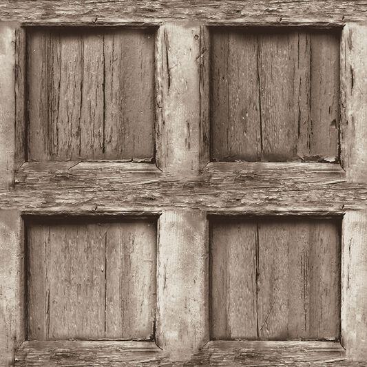Het Klooste (Heavy Wood Panel) Wallpaper, ... - Het Klooste (Heavy Wood Panel) Wallpaper - GrahamBrownUK