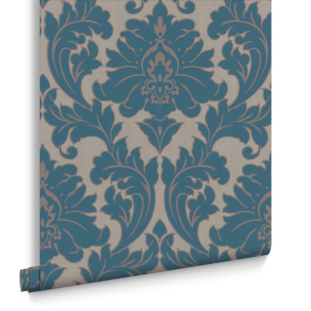 Majestic Teal Wallpaper, , Large ... Part 54