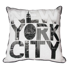 NY Type Pillow, , large
