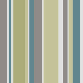 Rico Stripe Apple and Teal Wallpaper, , large