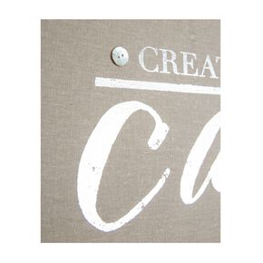 Create Calm Embellished Fabric Canvas, , large