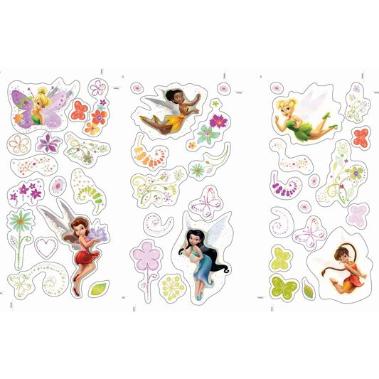 Fairies Small Wall Sticker, , large