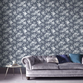 Muse Bleu Wallpaper, , large