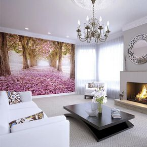Floral Tunnel Wall Mural, , large