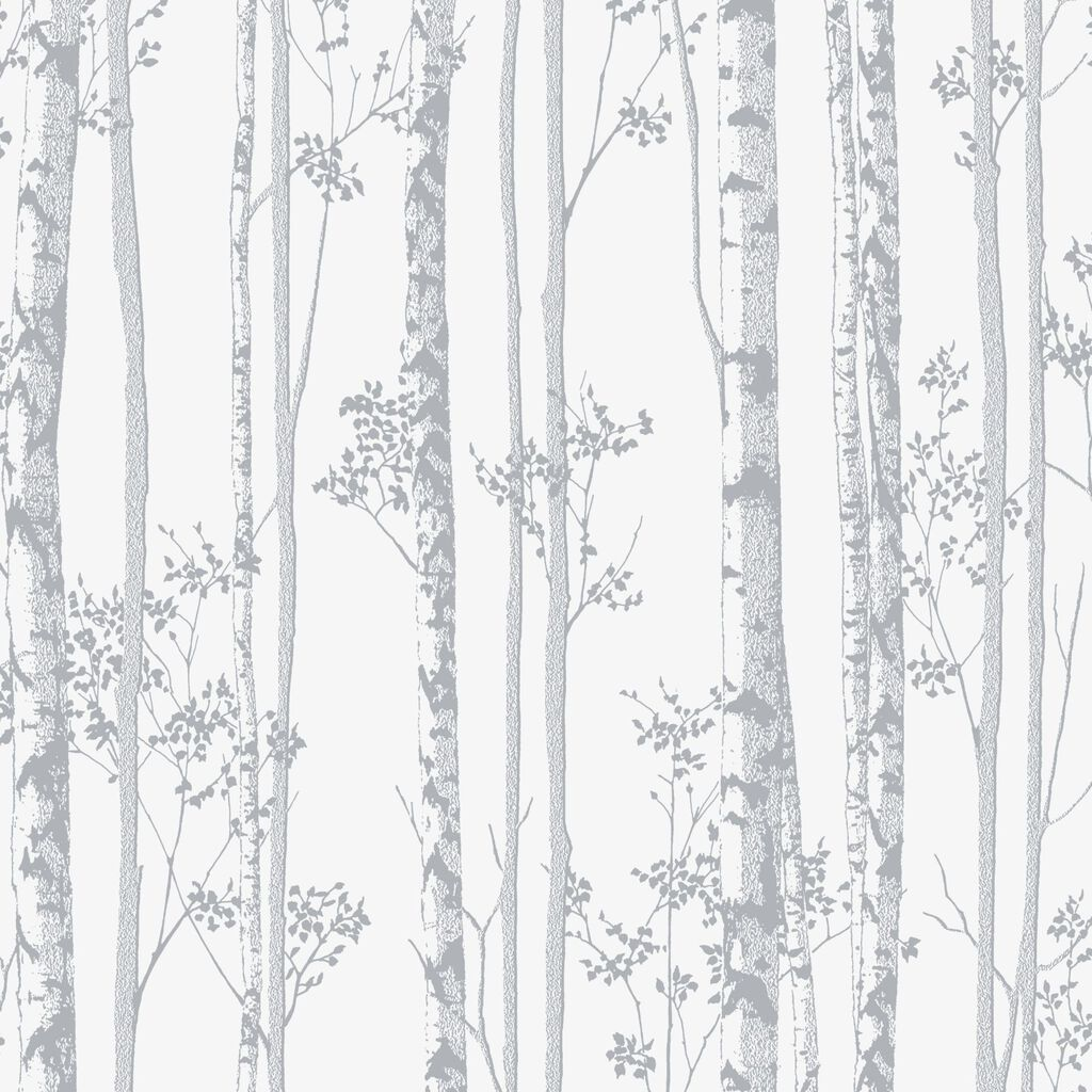 Linden pearl and grey wallpaper graham brown for Gray and white wallpaper designs