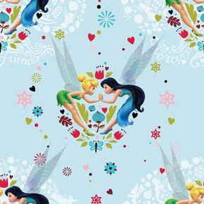 Tinkerbell Pixie Promise Multi-coloured Wallpaper, , large