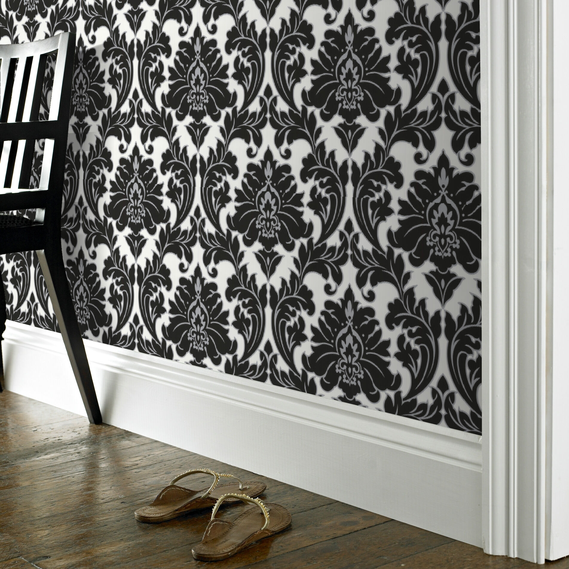 ... Large Majestic Black And White Wallpaper, ...
