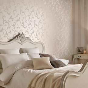 Baroque Bead Pearl Wallpaper, , large