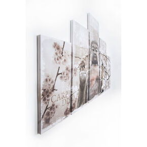 Harmony Set Of 5 Printed Canvas, , large