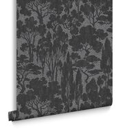 Tranquil Black Wallpaper, , large