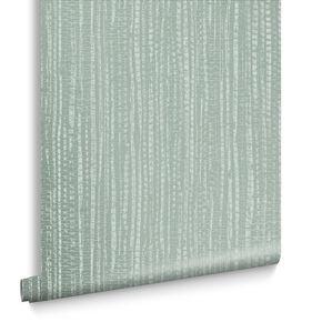 Bamboo Texture Green Wallpaper, , large