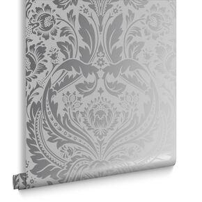 Silver Wall Paper metallic wallpaper   gold & silver wallpaper   graham & brown us