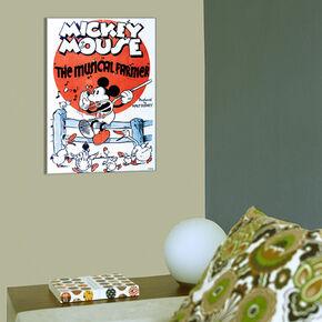 Mickey Musical Farmer Printed Canvas, , large