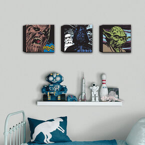 Star Wars Comic Canvas Set Of 3, , large
