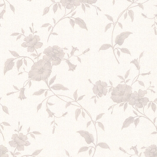 Tapestry Grey And White Wallpaper Graham Brown