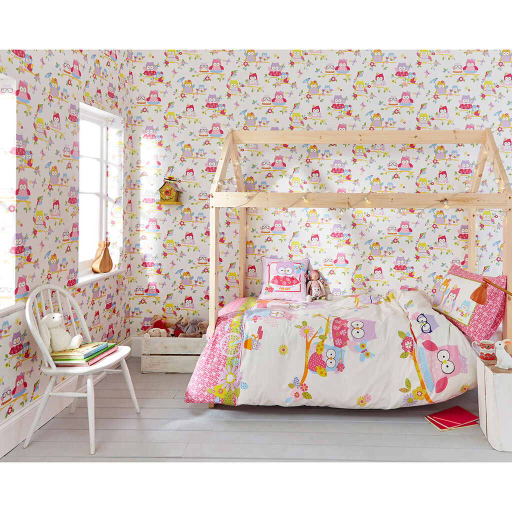 Owl Bedroom Curtains Kids Daccor By Character Graham Brown