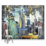 Couture New York Graffiti Mural, , large