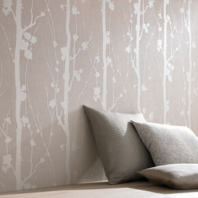 Solitude Beige Wallpaper, , large