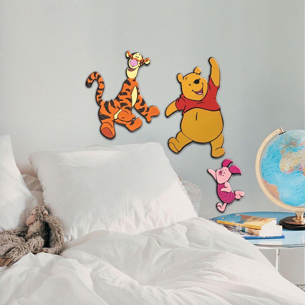 winnie l ourson 3 stickers en mousse grahambrownfr. Black Bedroom Furniture Sets. Home Design Ideas