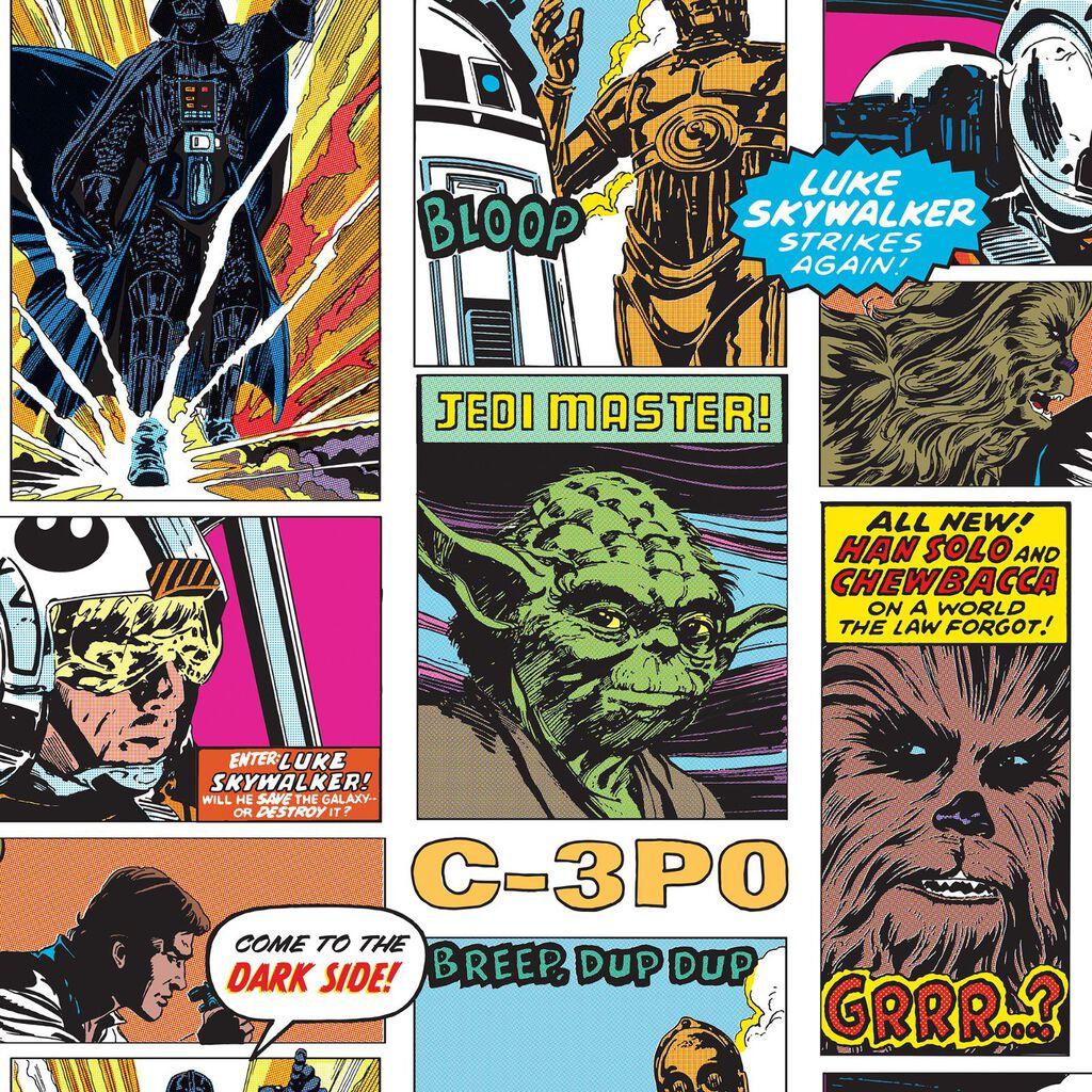 Star Wars Pop Art Collage Wallpaper Graham Brown