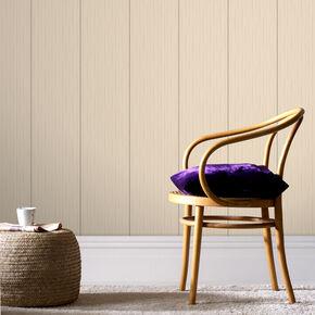Stria Stripe Neutral Wallpaper, , large